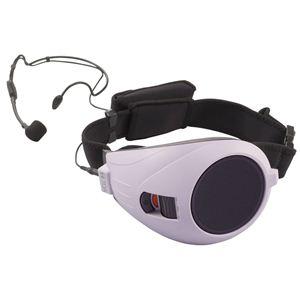 TOA(ティーオーエー) VOICE WALKER ハンズフリー拡声器 紫 ER-1000