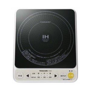 TESCOM(テスコム) IH調理器 ホワイト TIH303-W