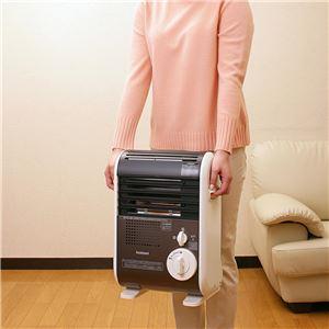 イワタニ カセットガスファンヒーター/暖房器具 【コードレスファンヒータータイプ】 軽量 安全装置搭載 風暖