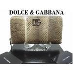 DOLCE&GABBANA(ドルチェ&ガッバーナ) 激レア 開運蛇革財布! BP1075