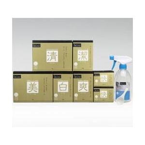 ロハスな暮らし 家庭用洗浄剤ギフトセット さぼんどちの『洗う品格』シリーズ