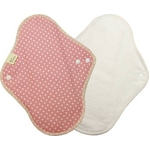布ナプキン 昼用 水玉ピンク3枚セット