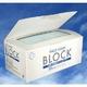 BLOCK フェイスマスク 200枚 長期保存用【シリカゲル(乾燥剤)入り!】