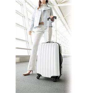 トラベルスーツケース(ホワイト)