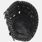 MIZUNO(ミズノ) Global Elite(グローバルエリート) 硬式ミット 一塁手用(ファースト) 右投げ TK型 ブラック