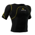 SKINS(スキンズ) CROM ショートスリーブトップ ブラック b10001055 Lサイズ