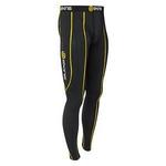 SKINS(スキンズ) SPORT スポーツロングタイツ ブラック ブラック/イエロー b10001001 XSサイズ