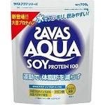 次世代プロテイン♪ SAVAS(ザバス) 『アクア ソイプロテイン100 ビッグ 』 700g ca1107 画像1