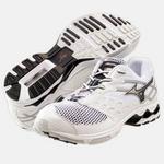 MIZUNO(ミズノ) ミズノウエーブジムランナー トレーニングシューズ 8kt67001 01:ホワイト×ネイビー 28,5cm