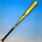 ★2010年モデル★ MIZUNO(ミズノ) 軟式用バット『SKY WARRIOR』 ゴールド 85cm×610g平均