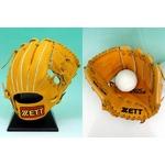 ZETT(ゼット) 2010年モデル 『バック ステージ』 少年軟式グローブ 右投げ用 内野オールラウンド用 オークブラウン