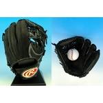 2010年商品 Rawlings(ローリングス) 硬式用グローブ『BUFFER』 内野手用 ブラック(90) 右投げ用