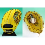 【2010年商品】 Wilson(ウィルソン) 硬式グローブ『Pro STAFF』 内野手用 Lタン 右投用 【WTAHGY5L】