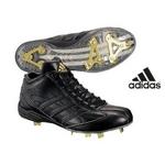 adidas(アディダス) 樹脂底スパイク アディスタート メタル MID ミドルカット ブラック 26cm