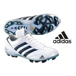 adidas(アディダス) 立ちベロ ローカットモデル ポイントスパイク アディスタート LOW ホワイト×ネイビー 26.5cm