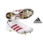 adidas(アディダス) 樹脂底スパイク アディスタート メタル HF ホワイト×レッド 26cm