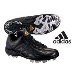 adidas(アディダス) 立ちベロローカットモデル ポイントスパイク アディスタート LOW ブラック 23.5cmの詳細ページへ