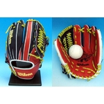 MLB(メジャーリーグ) オールスターゲームモデル!! Wilson(ウィルソン) 軟式用グローブ オールラウンド用 右投げ用