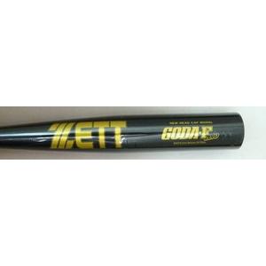 ☆★ZETT(ゼット) ★☆ 中学硬式用バット『GODA-Fzero』 ブラック×イエローゴールド(1953) 84cm×850g平均