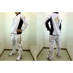 adidas professional(アディダスプロフェッショナル) ウィンドシャツ&ウィンドパンツ『上下セット』 ホワイト 2XOサイズの詳細ページへ