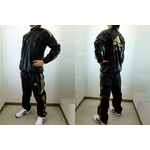 adidas professional(アディダスプロフェッショナル) ウィンドシャツ&ウィンドパンツ『上下セット』 ブラック Mサイズの詳細ページへ