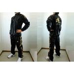 adidas professional(アディダスプロフェッショナル) ウィンドシャツ&ウィンドパンツ『上下セット』 ブラック Oサイズの詳細ページへ