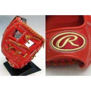 ★08年モデル★ RAWLINGS(ローリングス) 硬式用グローブ 『プロプリモシリーズ』 内野手用 サイズ6 Rオレンジ×ライトブラウン