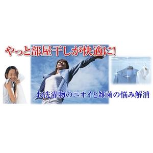 洗濯物も徹底除菌でインフルエンザ対策! 部屋干しバイオくん 200mL
