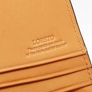 LORETO(ロレート) コードバンシリーズ 長財布 ブラウン