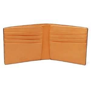LORETO(ロレート) コードバンシリーズ 二つ折り財布(コインポケット無し) ホワイト