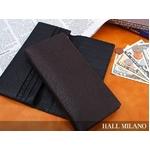 HALL MILANO(ハルミラノ) バッファロー長財布 ブラック