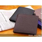 HALL MILANO(ハルミラノ) バッファロー2つ折り財布 ブラック