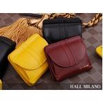 HALL MILANO(ハルミラノ) ミセスシリーズ二つ折り財布(BOX型) ブラック