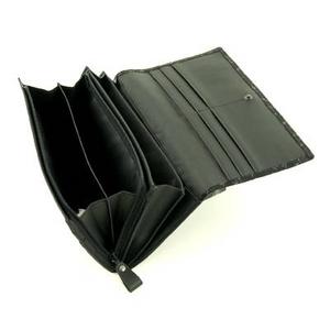 印伝(印傳) 長財布 レッド