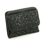 印伝(印傳) 二つ折り財布(ボックスタイプ) ブラックの詳細ページへ