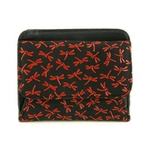 印伝(印傳) 二つ折り財布(ボックスタイプ) レッドの詳細ページへ