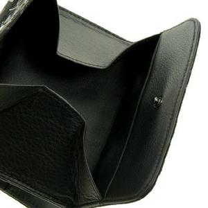 印伝(印傳) 二つ折り財布(ボックスタイプ) ベージュ