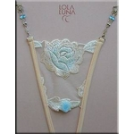 Lola Luna(ローラルナ) 【ALGES】Sサイズ オープンストリングショーツ