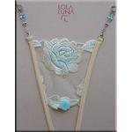 Lola Luna(ローラルナ) 【ALGES】Lサイズ オープンストリングショーツ