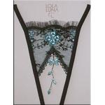 Lola Luna(ローラルナ) 【CAUCASE open】 オープンストリングショーツ Mサイズ