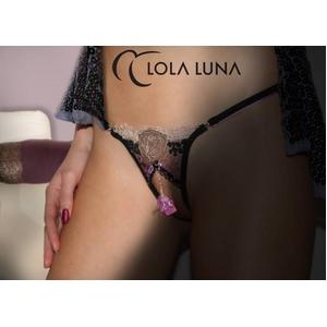Lola Luna(ローラルナ)【PAOLA M】 オープンストリングショーツ Mサイズ