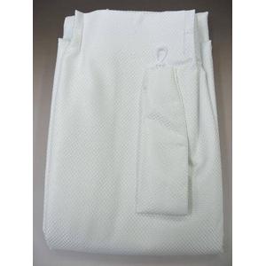 防音カーテン ホワイト 幅100cm×丈185cm 2枚組