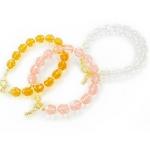 Beji(ベジ) beads/ブレスレットセット 3カラーセット 【NJKえりさん着用】