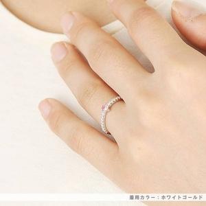 Beji(ベジ) 〜elegant style series〜 love/リング 7号 tj200909006be  K10ホワイトゴールド