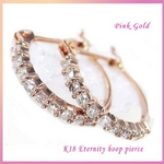 Beji(ベジ) Eternity hoop/pierce【ピンクゴールド】 tj200912020be
