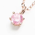 Beji(ベジ) star/ネックレス/Natural Pink×Pink Stone【czダイヤ】