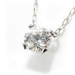 Beji(ベジ) big tears/ネックレス/Sparkle Silver×White Stone【czダイヤ】