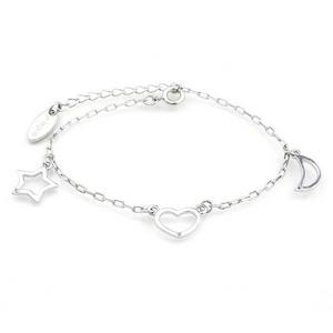 Beji(ベジ) three element/ブレスレット/sparkle silver【czダイヤ】