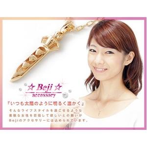 Beji(ベジ) dagger/ネックレス【イエローゴールド・ダガー】