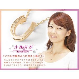 Beji(ベジ) horseshoe/ネックレス【イエローゴールド・馬蹄】【網戸もえさん着用】